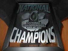 2017 COLLEGE FOOTBALL NATIONAL CHAMPION CLEMSON TIGERS 9X12 ETCHED MIRROR