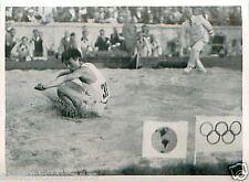 Naoto Tajima JAPAN JAPON Triple jump Saut OLYMPIC GAMES 1936 CARD