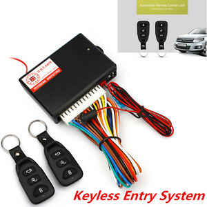 car autos alarm door lock unlock vehicle keyless entry system remote central. Black Bedroom Furniture Sets. Home Design Ideas