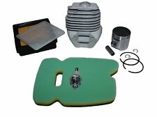 Cylinder Engine Pot & Piston Air Filter Service Kits Fits HUSQVARNA K750