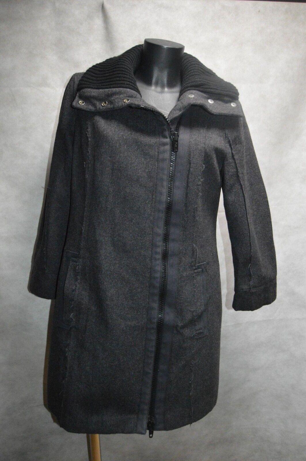 MANTEAU VESTE LAINE DKÑY DONA KARAN size L 40 GIACCA CHAQUETA COAT WOOL