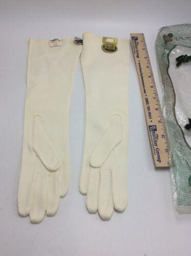Vintage Elvette Dawnelle Womens Gauntlet Gloves W… - image 1