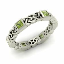 Celtic Knot Wedding Band in Sterling Silver | eBay