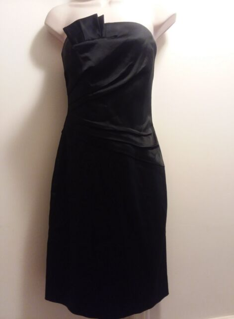 White House Black Market Little Black Dress Size 4 Cocktail C019 Ebay