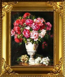 Roses-Pictures-Oil-Painting-Frame-G01241