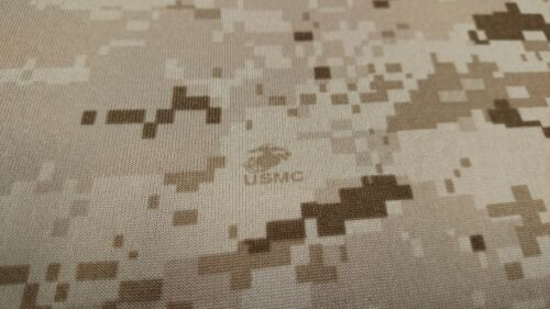 "Camo Headliner Fabic 5 Yards Desert Marpat Camouflage Automotive 3//16/"" Foam Back"