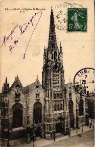 CPA-LILLE-L-039-Eglise-Saint-Maurice-663415