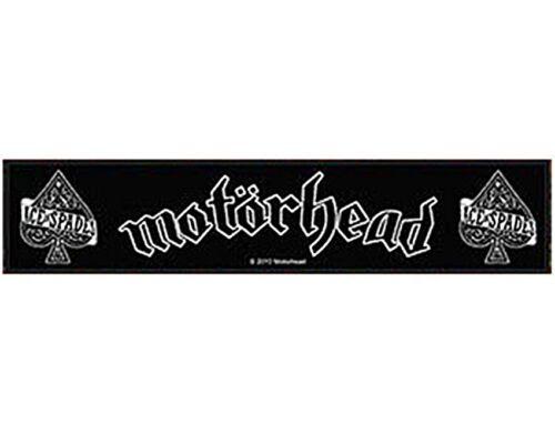 rz Motorhead Ace Of Spades sew-on cloth strip patch 200mm x 45mm