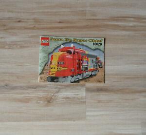 Lego Eisenbahn TRAIN 10020 Bauanleitung Santa Fe Lok Anleitung INSTR
