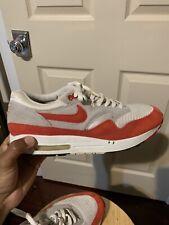 Nike Air Max 1 Classic Hoa White Sport Red 313097 161 Sz 11