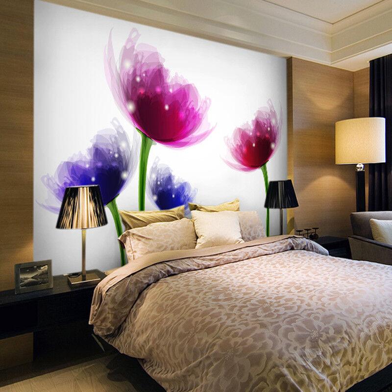 3D Glänzend Gefärbte Blaumen 95 Tapete Wandgemälde Tapete Tapeten Bild Familie DE