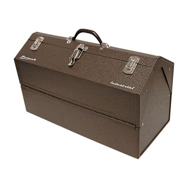 "HOMAK 22"" Cantilever Steel Toolbox, BW00210220 - 22.2"" x 10"" x 12.6"" New"