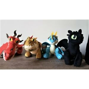 HOW TO TRAIN YOUR DRAGON 3 - THE HIDDEN WORLD! 20CM PLUSH TOY - CHOOSE FROM 4