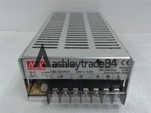 MeanWell SP-150-24 150W 24V AC//DC Single Output Power Supply MW PSU