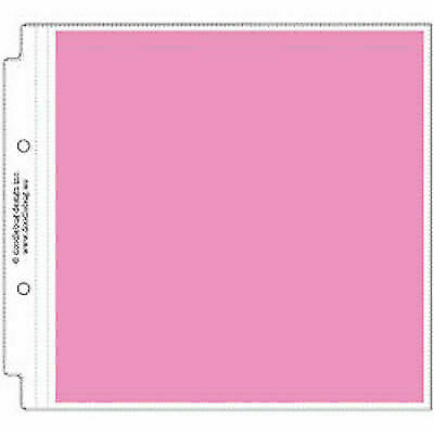 12 by 12-Inch Doodlebug Design Square Protectors for Scrapbooking