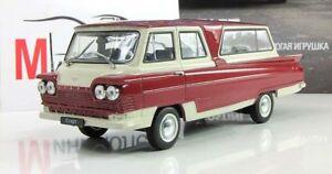 Start-minibus-AutoLegends-USSR-1964-Diecast-Metal-model-1-43-Deagostini-NEW
