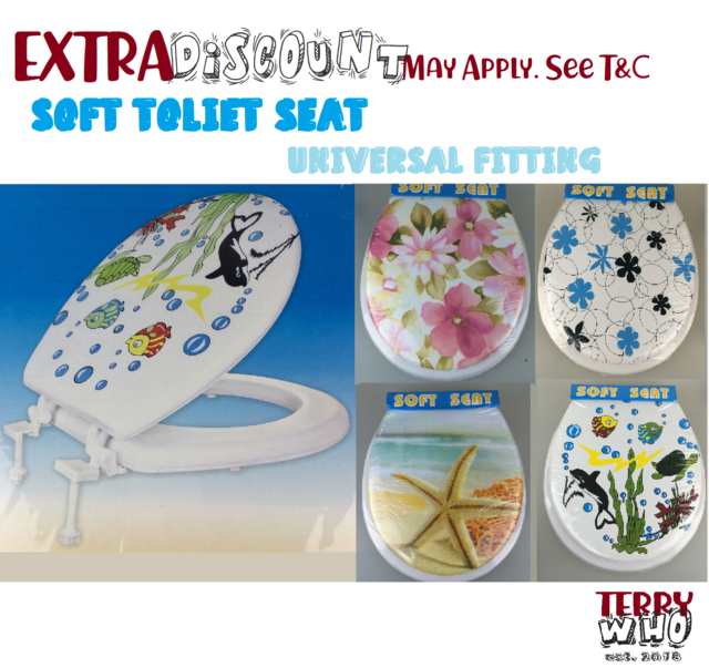 Soft Toilet Seat New and Cover Lid Designer Bathroom Covers WC Bath Seat Lids
