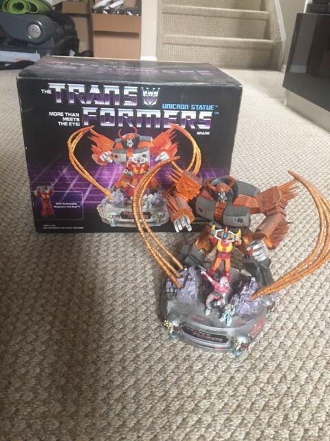 Transformers G1 Unicron Movie Statue