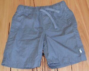 Ralph Lauren Boys Shorts- GREY - SIZES - 4,5,6,7 & 10-12 - NEW