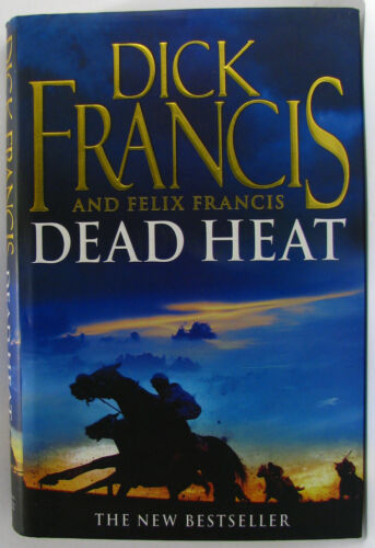 1 of 1 - #BJ^1, Dick & Felix Francis DEAD HEAT H/cover Postage Fast & FREE Ask Agnes