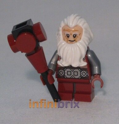 Lego Balin the Dwarf Minifigure from Set 79018 The Hobbit NEW lor094