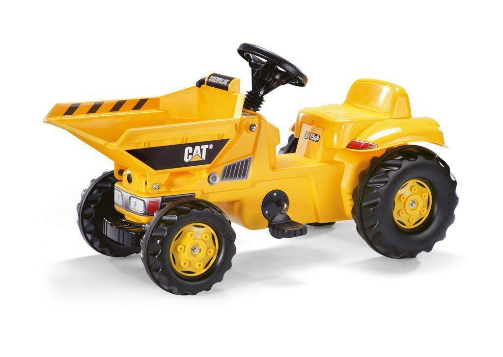 Trettraktor CAT Dumper rolly Kid CAT Trettraktor - Rolly Toys 536289