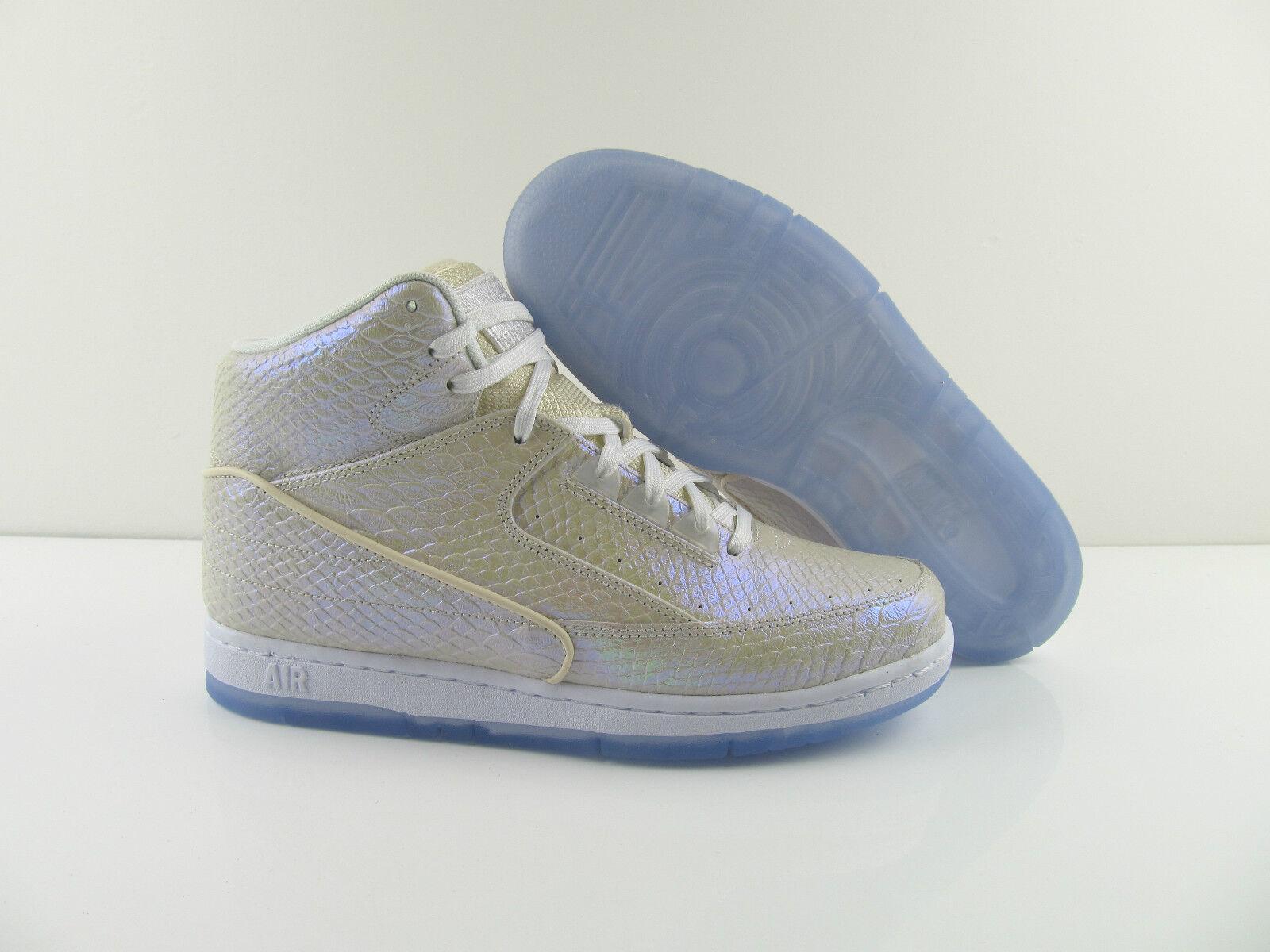 Nike Air Python PRM Premium White Metallic New US_8.5 10 Eur_42 44