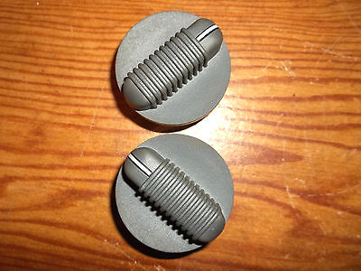 95-97 S10 PICKUP TRUCK CHEVY BLAZER GMC JIMMY HEATER CLIMATE CONTROL KNOBS PAIR