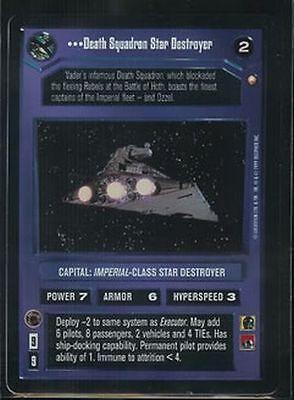 STAR WARS SW CCG REF I VRF FOIL Avenger DS NM//M