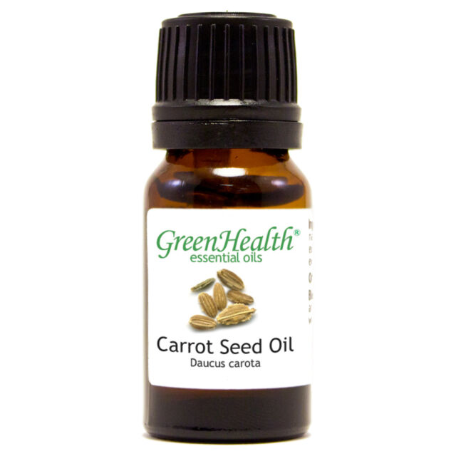 10 ml Carrot Seed Essential Oil (100% Pure & Natural) - GreenHealth