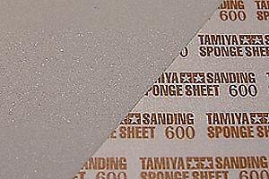 87148-Tamiya-Esponja-de-Lijado-Hoja-600-accesorios-de-acabado-modelo-de-construccion
