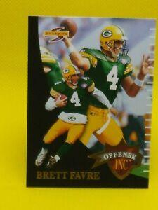 Brett Favre 1995 Score OFFENSE INC #OF8 Green Bay Packers
