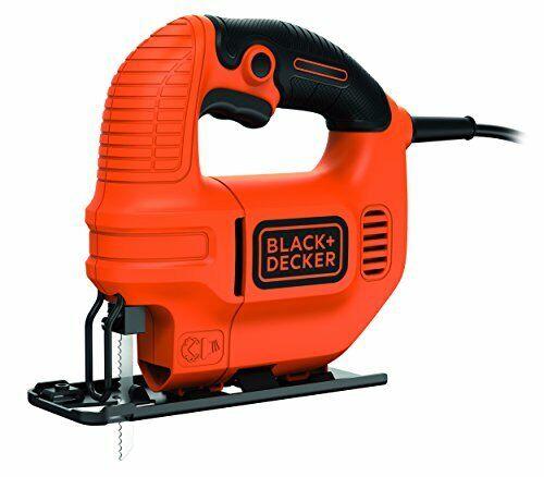 Säge für Holz Black+Decker Elektro Kompakt Stichsäge 400W KS501 Metall /& K...