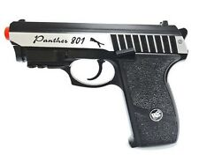 WG Panther Full Metal 801BS Gas Blowback CO2 Air Soft Pistol Built In Laser