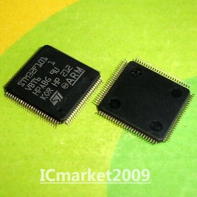 1 PCS STM32F101V8T6 LQFP100 STM32F101 V8T6  64 or 128 KB Flash
