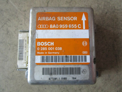 Airbagsteuergerät Steuergerät Airbag AUDI A4 B5 8A0959655C 0285001038
