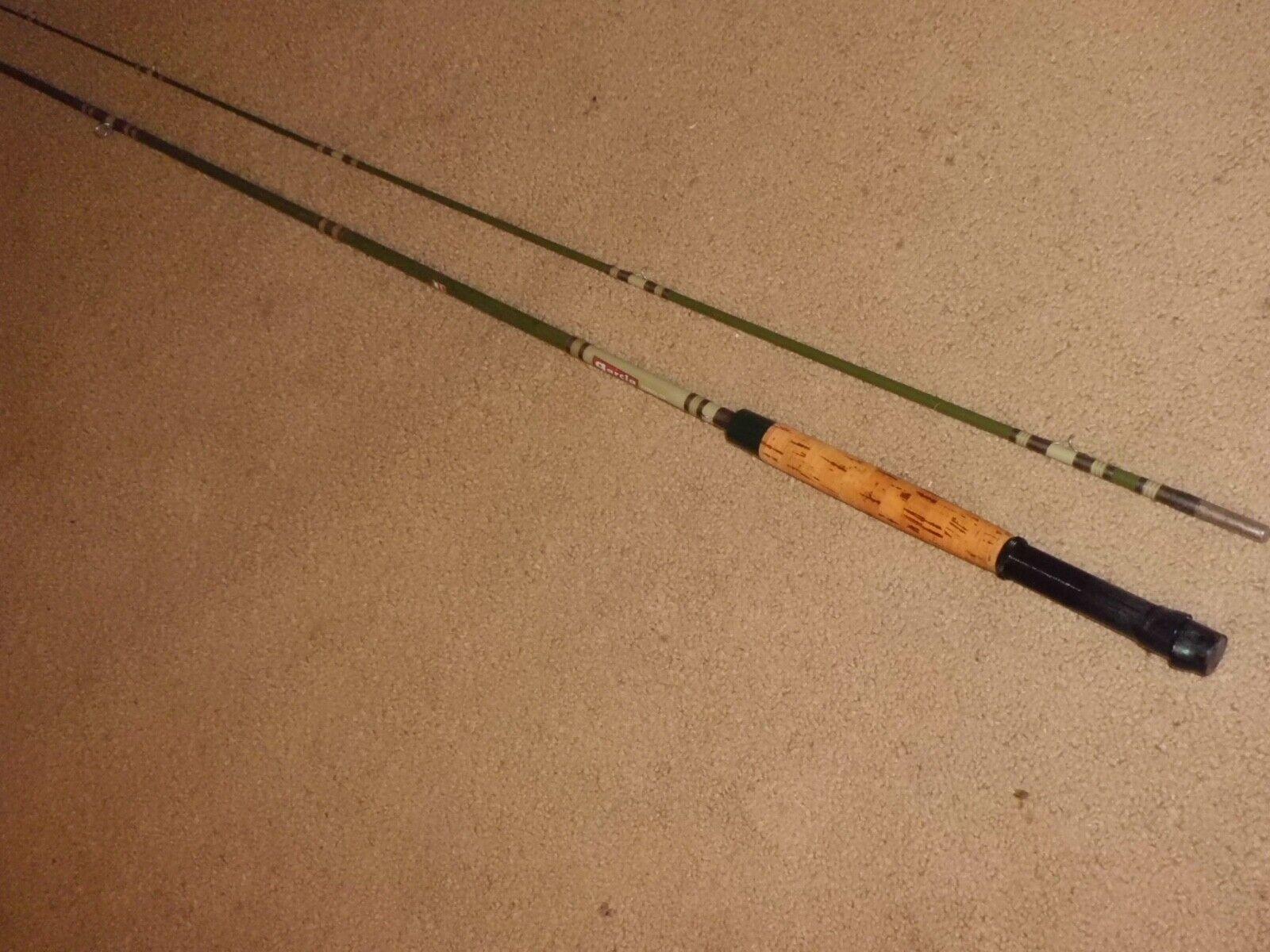 Vintage Garcia Conolon 8237-A acción Fly 8' caña de mosca mosca mosca seca Hecho en EE. UU. - 6-7 línea 5e7067
