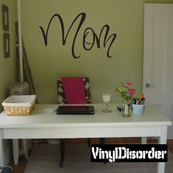 Mom Family and Friends Vinyl Wall Decal Mural Quotes Words -fa031momi