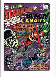 The-Brave-And-The-Bold-61-origin-Starman-Black-Canary-September-1965