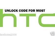 UNLOCK CODE MOST HTC PHONES TMOBILE ATT HTC M8 M7 L9 G2 G3 601 510 ONE V S X