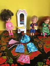 Mattel - Barbie's Kelly's Friends Dolls-Kelly and Tommy With Accessories