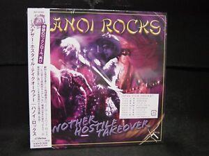 HANOI ROCKS Another Hostile Takeover + 1 JAPAN MINI LP CD Cherry Bombz 69 Eyes