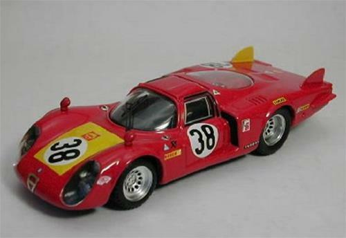 Alfa Romeo 33.2 C.Lunga Lemans 1968 1 43 Best Be9252 Model Car Diecast
