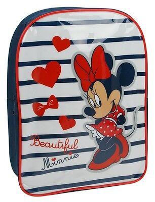 Minnie Mouse | Beautiful Minnie | Nautical Backpack | Rucksack | School Bag