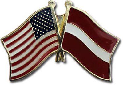 Wholesale Pack of 50 USA American Czech Friendship Flag Bike Hat Cap lapel Pin