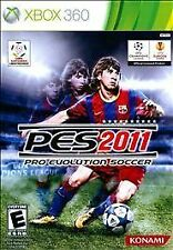 Pro Evolution Soccer 2011 (Microsoft Xbox 360, 2010) -- FREE SHIPPING