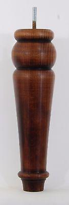 """Ref.e111-dmw Footstool Legs Wooden Chair Legs Bed Cheap Sales 50% 4 Beech Legs 275mm High 11"""""""