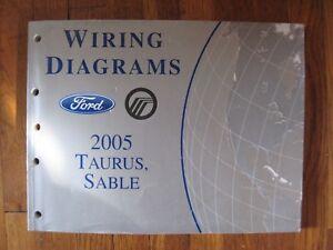 2005 Ford Taurus Mercury Sable Electrical Wiring Diagram Service Repair Manual Ebay
