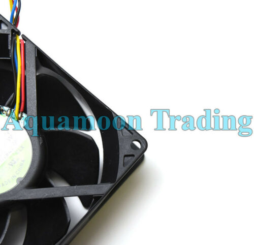 "Authentic Dell OEM OPTIPLEX GX520 GX620 740 745 Case Cooling 4/"" Fan w// Cable"