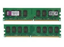 Kingston 4 GB DIMM 800 MHz PC2-6400 DDR2 SDRAM Memory (KVR800D2N6K2/4G) set of 2